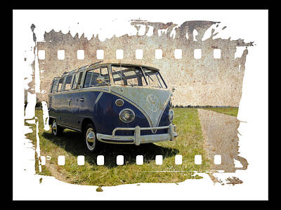 Photograph - Vw Micro Bus Film by Steve McKinzie