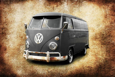 Photograph - Vw Old School by Steve McKinzie