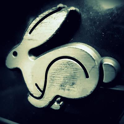 Photograph - Vw Rabbit Emblem by Joseph Skompski
