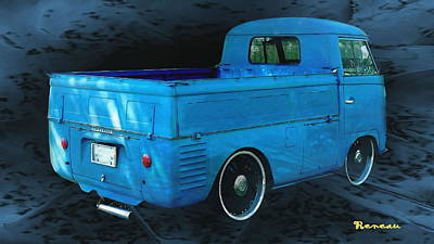 Photograph - Vw Single Cab 2 by Sadie Reneau