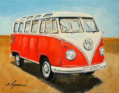 Vw Transporter T1 Art Print