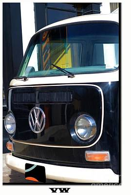 Photograph - Vw Van by Liane Wright