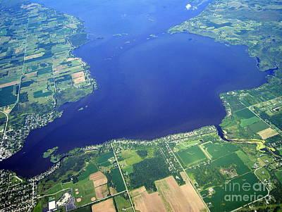 Photograph - W-048 Winneconne Lake Wisconsin by Bill Lang