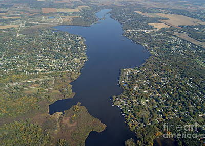 Photograph - W-058 Wonder Lake Mchenry Ilinois by Bill Lang