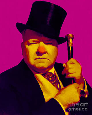 W C Fields 20130217 Art Print by Wingsdomain Art and Photography