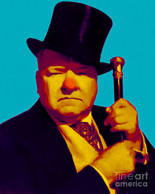 W C Fields 20130217m135 Print by Wingsdomain Art and Photography