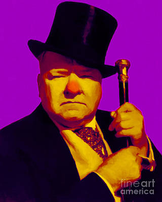 W C Fields 20130217m30 Print by Wingsdomain Art and Photography