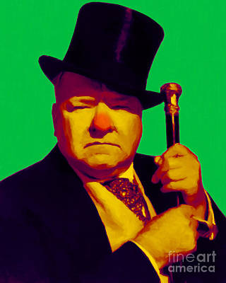 W C Fields 20130217p180 Art Print by Wingsdomain Art and Photography