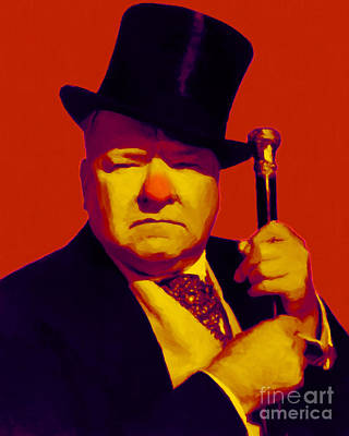 W C Fields 20130217p50 Art Print by Wingsdomain Art and Photography