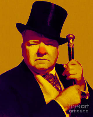 W C Fields 20130217p80 Art Print by Wingsdomain Art and Photography