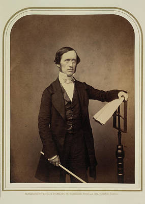 Pianist Photograph - W. Sterndale Bennett Esq. Mus by British Library