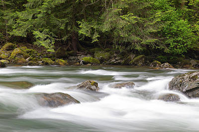 Snoqualmie Photograph - Wa, Olallie State Park, Snoqualmie by Jamie and Judy Wild