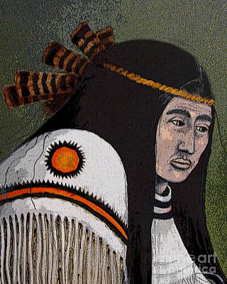 Wabanaki Warrior Art Print