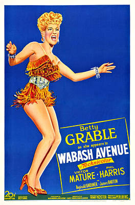 Fid Photograph - Wabash Avenue, Us Poster Art, Betty by Everett