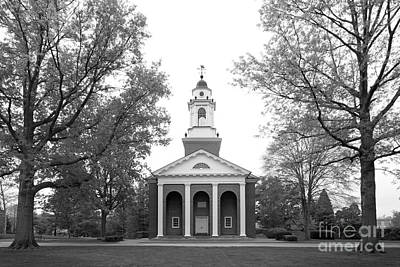 Indiana Photograph - Wabash College Chapel by University Icons