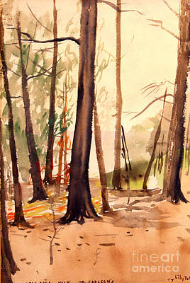 Painting - Wabigama Woods by Art By Tolpo Collection