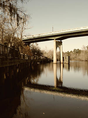 Photograph - Waccamaw River Bridge by MM Anderson