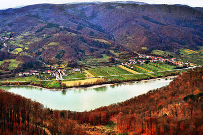 Photograph - Wachau Danube Valley At Willendorf by Menega Sabidussi