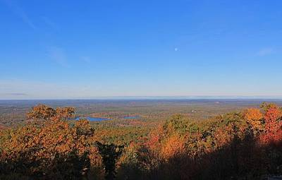 Photograph - Wachusett Mountain View by Michael Saunders
