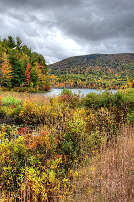 Photograph - Wachusett Mt. In Autumn by Donna Doherty
