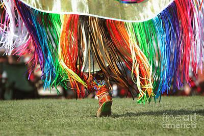 Fancy-dancer Photograph - Wacipi Fancy Dancer by Heidi Hermes