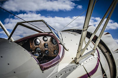 Photograph - Waco Biplane 2 by Bradley Clay