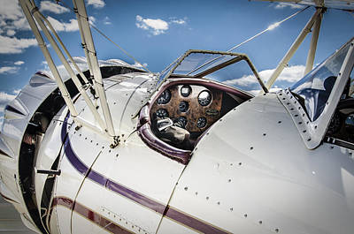 Photograph - Waco Biplane by Bradley Clay