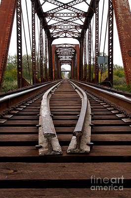 Photograph - Waco Tracks by Sherry Davis