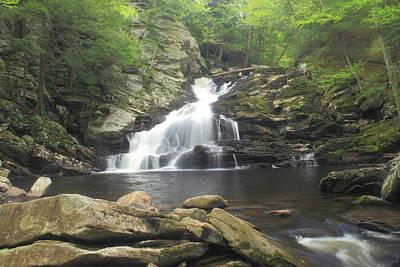 Photograph - Waconah Falls Berkshires by John Burk