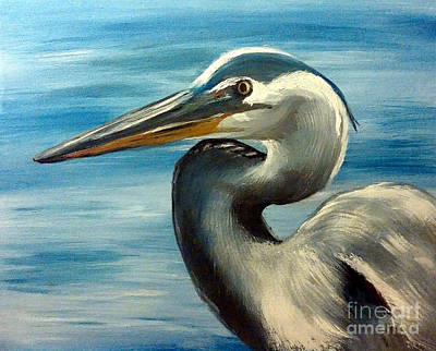 Painting - Wade by Abbie Shores