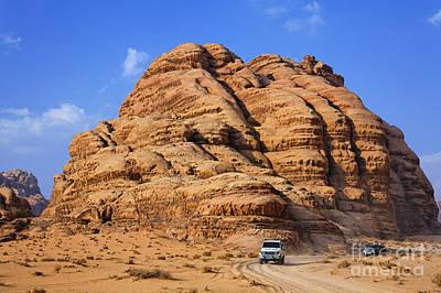 Wadi Rum In Jordan Art Print by Robert Preston
