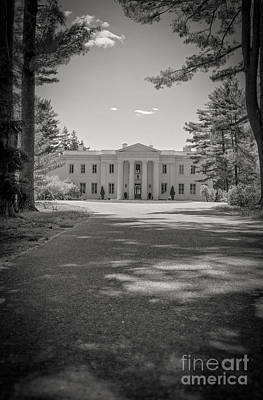 Photograph - Wadsworth Mansion At Long Hill Middletown Connecticut by Edward Fielding