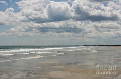 Photograph - Waves Kissing The Sand by Barbara Bardzik