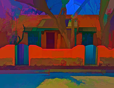 Digital Art - Wagner Casitas - Abstract by Charles Muhle