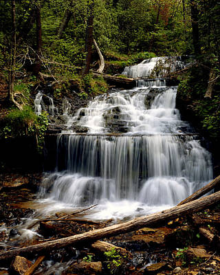 Photograph - Wagner Falls by Tim Hawkins