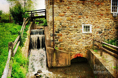 Wagner Grist Mill Art Print