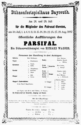 Parsifal Painting - Wagner Parsifal, 1882 by Granger