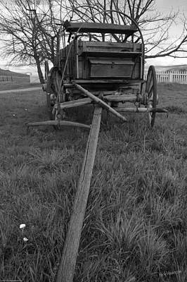 Photograph - Wagon History by Mick Anderson