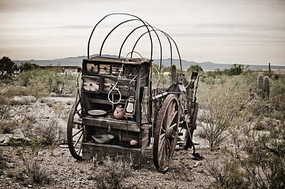 Photograph - Wagon by Swift Family