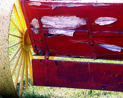 Wagon Art Print by Tom Romeo