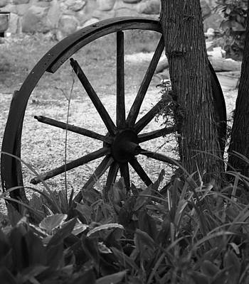 Photograph - Wagon Wheel by Al Fritz