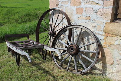 Wagon Wheel Original by Laura Paine