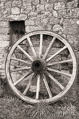 Wagon Wheels Photograph - Wagon Wheel by Olivier Le Queinec