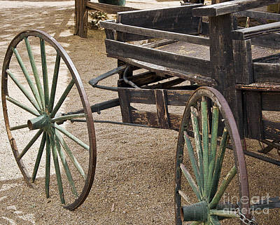 Digital Art - Wagon Wheels by Kirt Tisdale