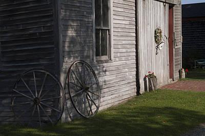 Photograph - Wagon Wheels by Wayne Meyer