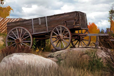Photograph - Wagons Ho by Patricia Montgomery