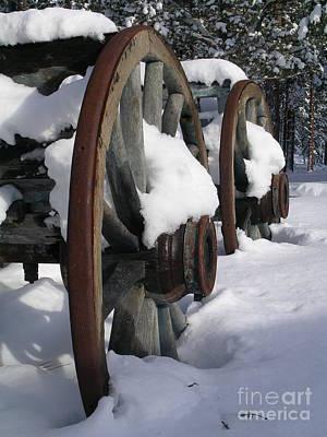Photograph - Wagons West by Jennifer Lake