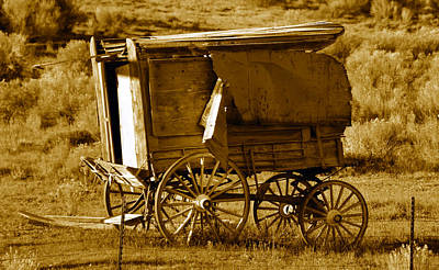 Gypsy Wagon Photograph - Gypsy Wagon by David Lee Thompson