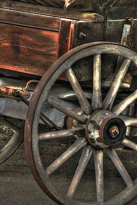 Wagonwheel Art Print