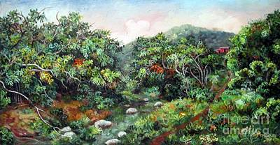 Painting - Wagwater River  by Ewan  McAnuff